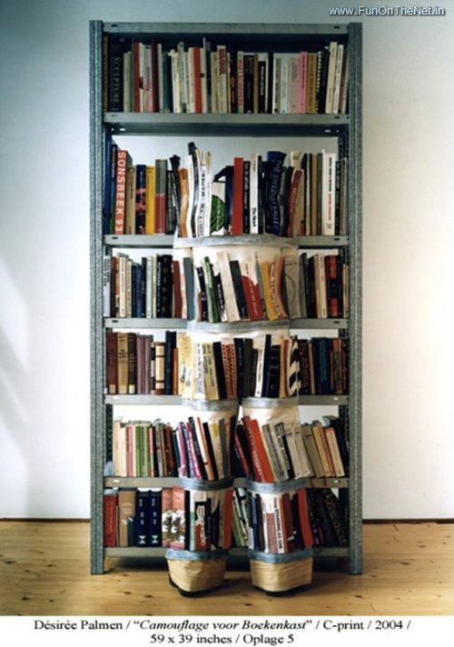 invisible Bookcase