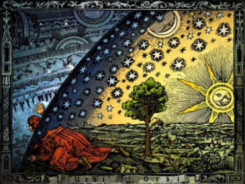 Astrology Flammarion woodcut